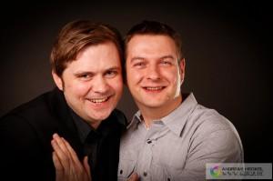 (rechts) Inhaber Oliver Franke (links) Geschäftspartner Oliver Eichhorn